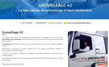 Grenaillage rabottage routier