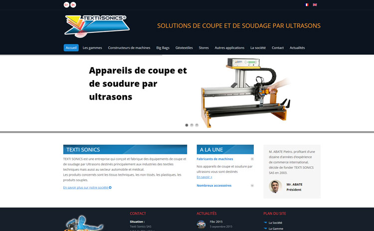 Coupe par ultrasons